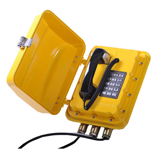 explosion-proof telephone / analog / IP / PoE