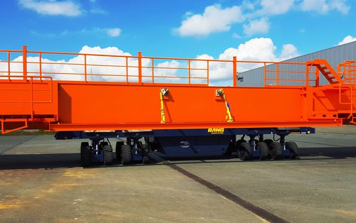 more than 6 axles self-propelled trailer