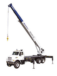 mobile crane / telescopic / loading