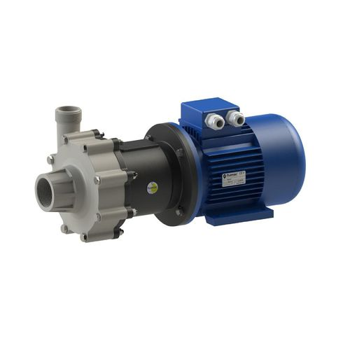 magnetic-drive pump / with electric motor / centrifugal / for the chemical industry
