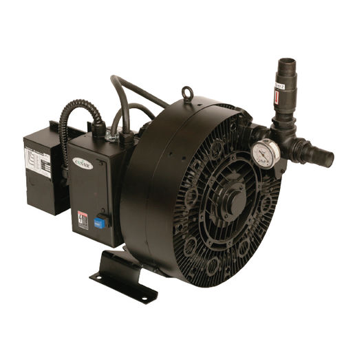 lubricated vacuum pump