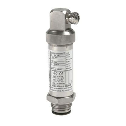 relative pressure transmitter / absolute / strain gauge / ceramic