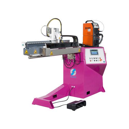 seam welding machine / manual / precision / longitudinal