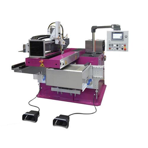 seam welding machine / manual / longitudinal / corner