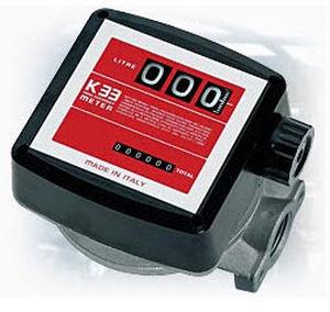 positive displacement flow meter / for fuel / flange