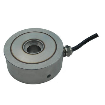 compression load cell / ring / high-precision / stainless steel