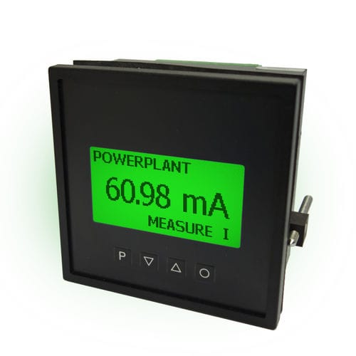 temperature indicator / DC / DC voltage / frequency