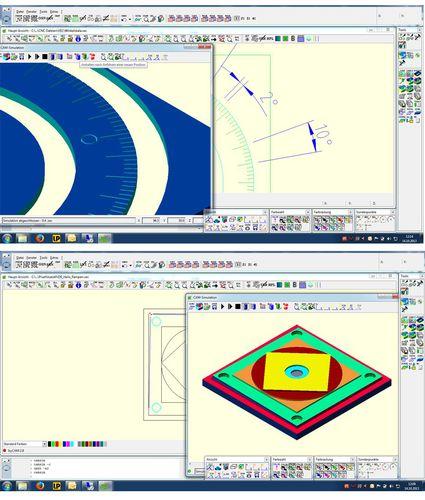 CAD software / CAM / control / engraving