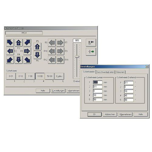 management software / control / for piloting / for CNC machines