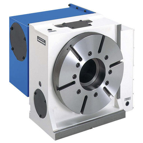 hydraulic rotary indexing table / vertical / with face gear / servo-driven