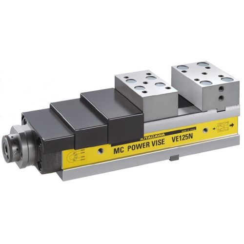 machine tool vise / low-profile / precision / compact