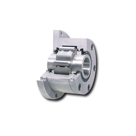 one-way roller clutch / with internal bearings / full-face / backstop