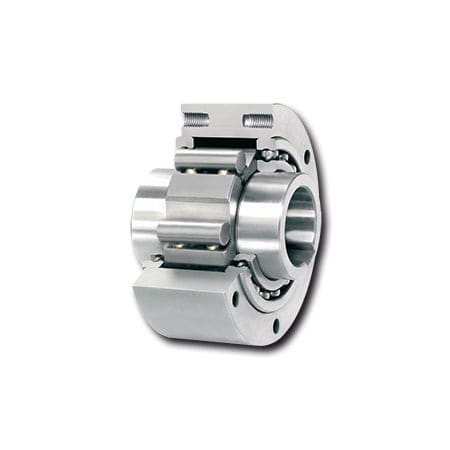 one-way roller clutch / with internal bearings / full-face / indexing