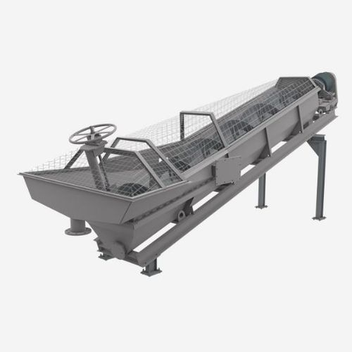 centrifugal classifier / spiral / sand / for the recycling industry