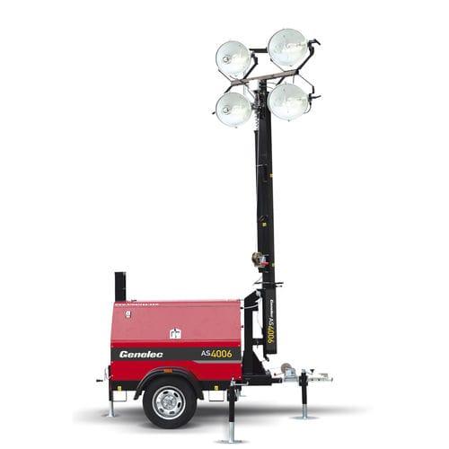 LED light tower / metal halide / diesel engine