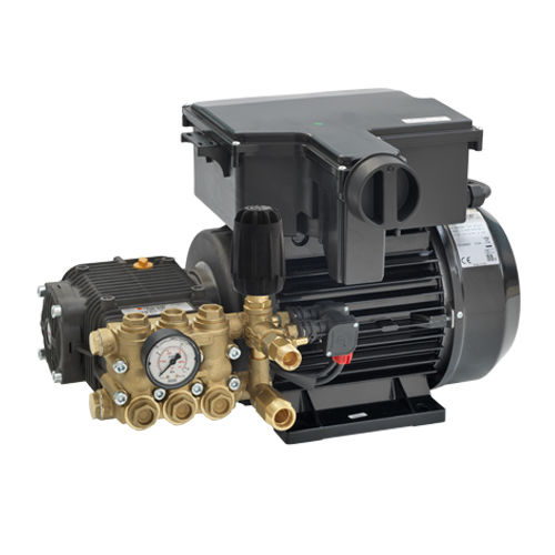 water pump / with electric motor / plunger / industrial