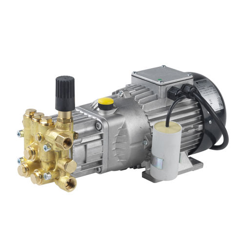 plunger pump unit / electrically-powered / brass / stainless steel