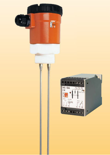 conductive level switch / for liquids / multi-point / threaded