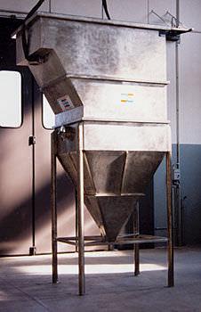 wastewater decanter / vertical