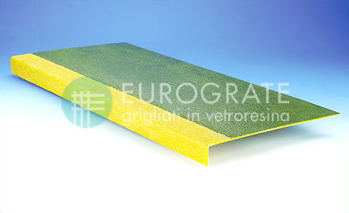 anti-slip floor covering / FRP / fiberglass / laminate