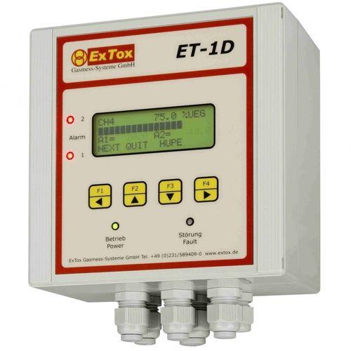 toxic gas detection control unit