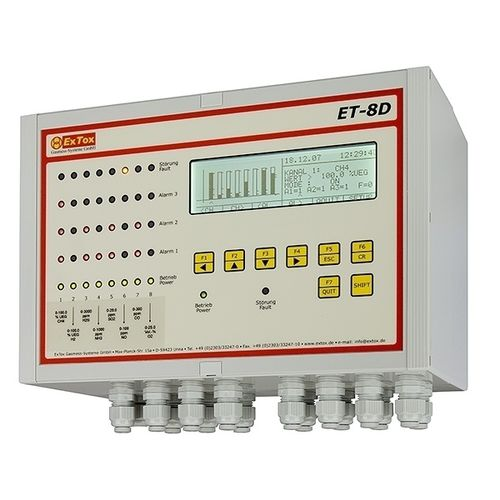 toxic gas detection control unit