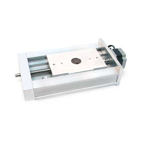 linear positioning stage / motorized / dovetail / aluminum