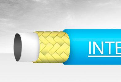 water hose / polyurethane / aramid / wear-resistant