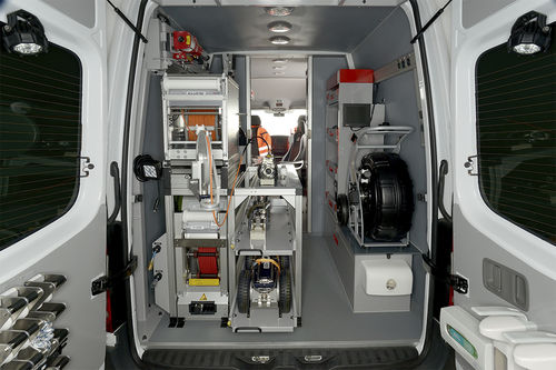 pipe inspection vehicle