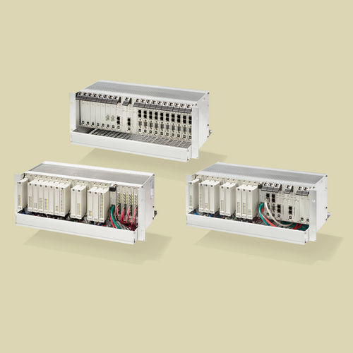 compact PLC / with integrated I/O / modular / safety