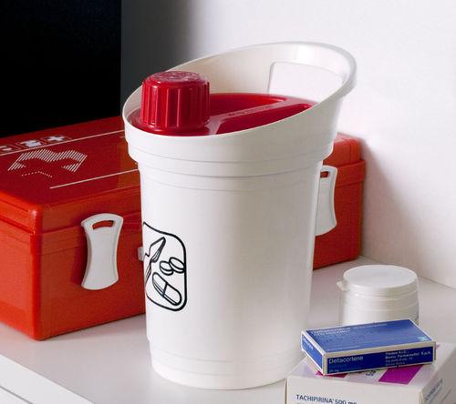 polypropylene waste bin