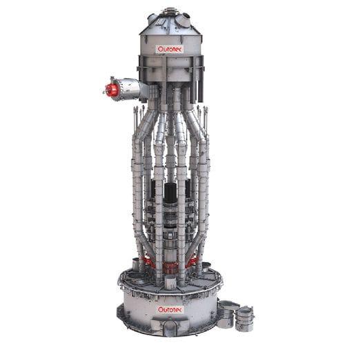 preheating furnace / melting / tubular / electric