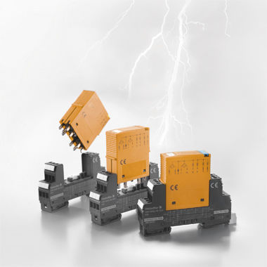type 2 surge arrester / DIN rail / for measurement and control circuits