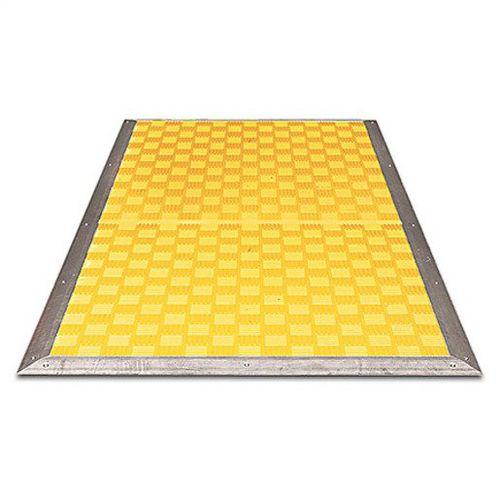 Pressure-sensitive safety mat - 440F MatGuard™ - Allen-Bradley - steel /  bubble