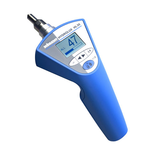 water leak detector / with headphone / portable / with digital display