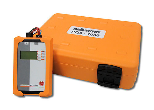 water analyzer / power quality / portable / with fault recorder