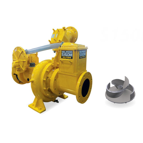 slurry pump / diesel engine / self-priming / vortex