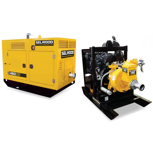 wastewater pump / diesel engine / self-priming / centrifugal