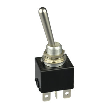 toggle switch / lever / bipolar / industrial
