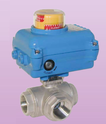 ball valve / electrically-actuated / isolation / brass
