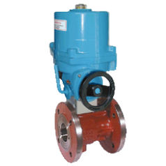 butterfly valve / electrically-actuated / isolation / double-flange