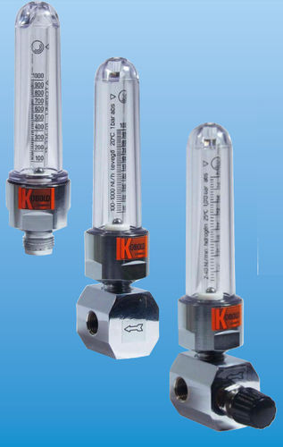 variable-area flow meter / for liquids / stainless steel / brass