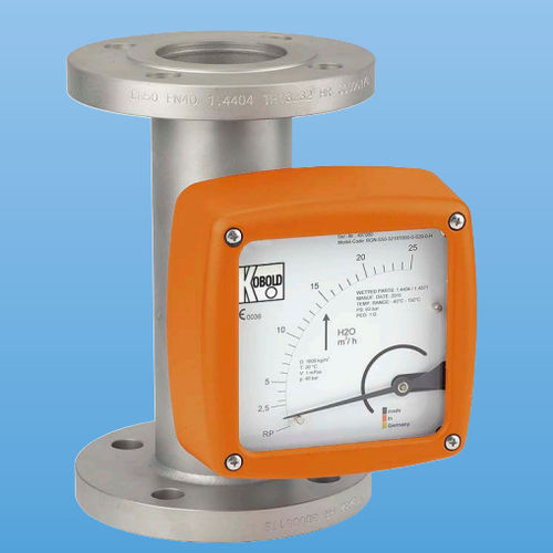 variable-area flow meter / for liquids / for gas / high-pressure