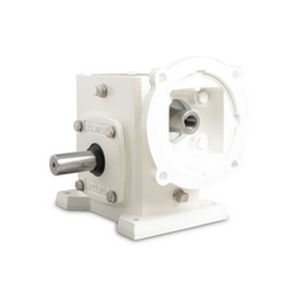 worm gear reducer / right-angle / rugged
