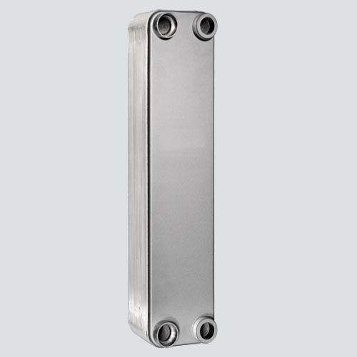 nickel-brazed plate heat exchanger / liquid/liquid / compact / corrosion-resistant