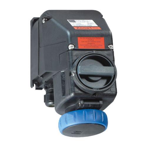wall-mounted electrical socket