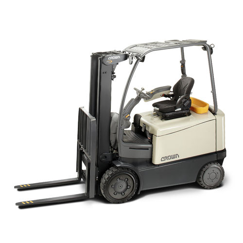 electric forklift / ride-on / industrial / for warehouses