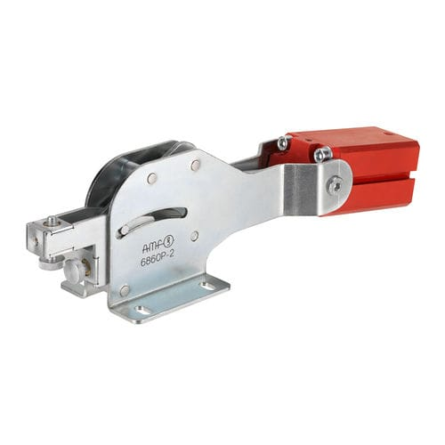 pneumatic toggle clamp - ANDREAS MAIER GmbH & Co. KG (AMF)