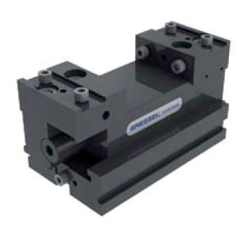machine tool vise / 5-axis / for small workpieces / self-centering