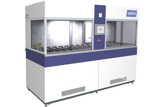 ophthalmic lens coating line